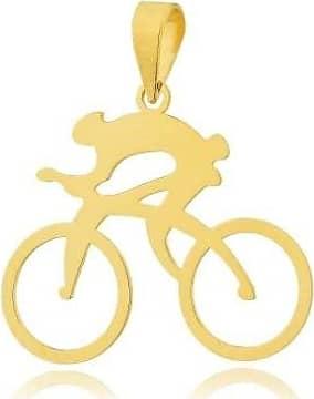 Prado Joias Pingente Em Ouro 18k Ciclista