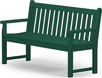 POLYWOOD Outdoor POLYWOOD Traditional Recycled Plastic 60 in. Garden Bench Slate Gray - TGB60GY