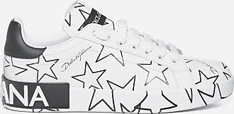 Dolce & Gabbana Millennials stars print Portofino leather sneakers - DOLCE & GABBANA - woman