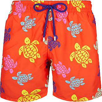 Vilebrequin Moorea Swim Short Multicolor Turtle Round - medium
