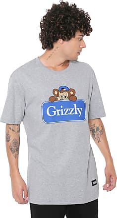 Grizzly Camiseta Grizzly Travel Bear Cinza