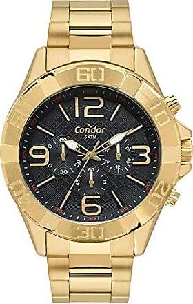 Condor Relógio Condor Masculino Civic Dourado COVD54BD/4P