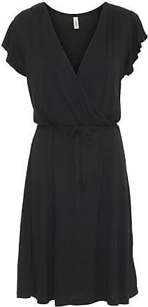 soyaconcept leichtes Sommerkleid//Kleid in Schwarz Viskose