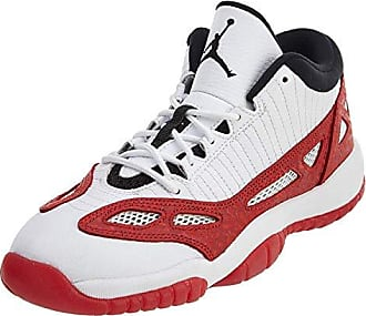 new arrival 1ee7e adbc3 Nike Air Jordan 11 Retro Low BG Big Kids Basketball Shoes White Gym Red Size