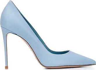 Le Silla Sapato Eva de couro e salto de 110mm - Azul