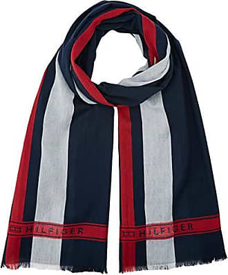 Tommy Hilfiger Selvedge Scarf, Echarpe Homme, Bleu (Corporate 901), Unique ( dc952df8dd6