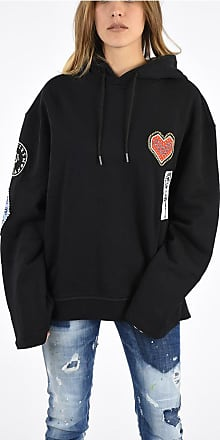 Opening Ceremony Embroidered Cotton Hoodie size S