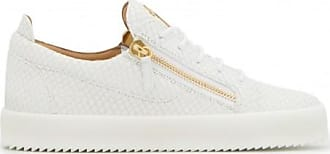 Giuseppe Zanotti Crocodile-embossed leather low-top sneaker FRANKIE PYTON