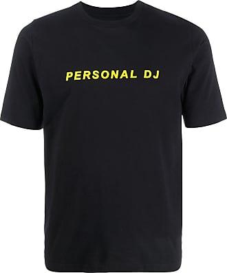 Kirin Camiseta decote careca com estampa de logo - Preto