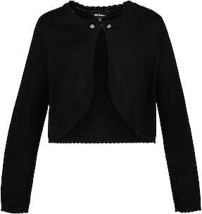 cc04406c702752 Ulla Popken Trachten-Bolero Damen, schwarz, Mode in großen Größen