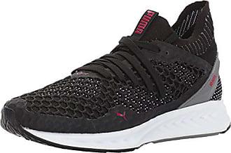 Running + Training – Puma IGNITE Limitless NETFIT Multi Sneakers Mens Rock Ridge Whisper White