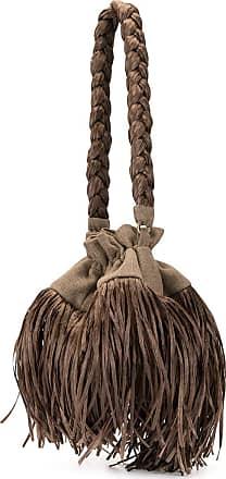 0711 tassel oboba bag - Brown