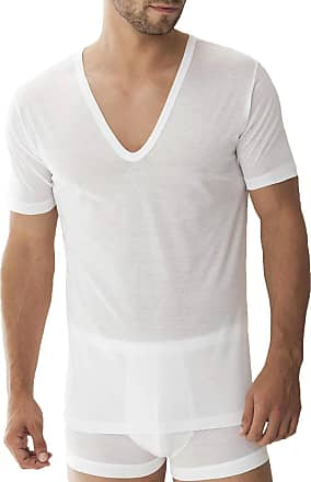 Zimmerli Royal VN SS mens t-shirt, article no.: 2528124 - white - 0-3 Months