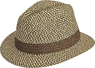 0596a151ddbff Country Gentleman Men Mason Fedora Natural Multi L