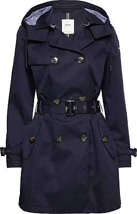 Esprit Coats Woven Trench Coat Rock Blå Esprit Casual
