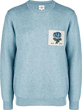 Kent & Curwen Suéter com patch floral - Azul