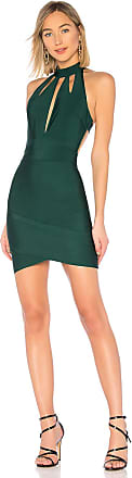 by the way. Ansie Halter Cut Out Dress in Dark Green