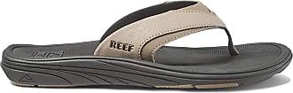 Reef Mens Modern Flip Flops, Multicolor (Black Tan Bta), 9 UK