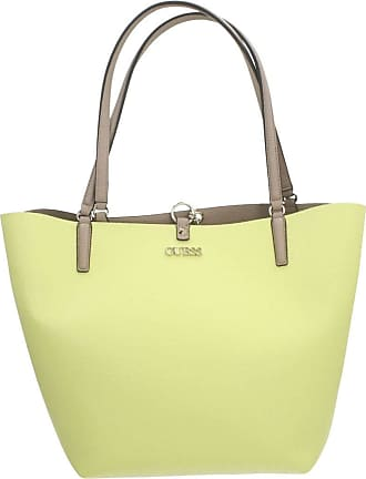 Guess Alby Toggle Tote Lime/Taupe