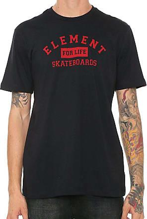 Element Camiseta Element For Life EL01A0674 Preta
