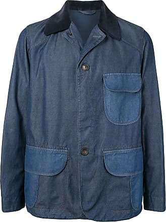 Kent & Curwen single-breasted fitted jacket - Blue