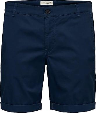Selected Homme Mens SLHSTRAIGHT-Paris Shorts W NOOS, Estate Blue, XL