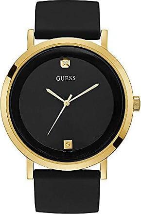 Guess Relógio Guess Masculino Preto 92751gpgddu1 Analógico 3 Atm Cristal Mineral Tamanho Médio