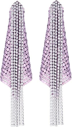 Paco Rabanne Exclusive to Mytheresa - Crystal and mesh earrings