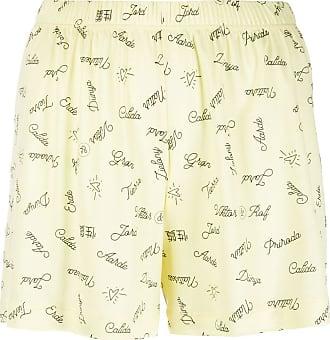 Viktor & Rolf Shorts con stampa - Di colore giallo