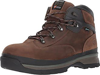 Timberland PRO Mens Euro Hiker Alloy Toe Waterproof Industrial and Construction Shoe, Brown Full Grain Leather, 7.5 M US