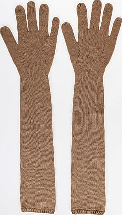 Gentryportofino Cashmere Long Knitted gloves size Xs