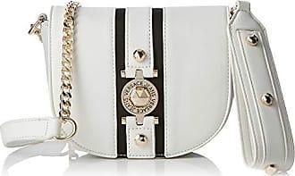 c288357c10 Versace Jeans Couture Bag, Sac à bandoulière Femme, Blanc (Bianco Ottico),