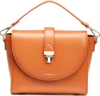Maverick & Co. Athena Lustre Crossbody Bag - Caramel Brown - Women