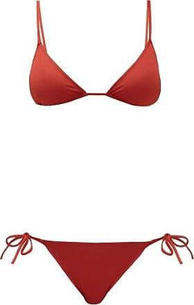 Eres Mouna Triangle Bikini - Womens - Red