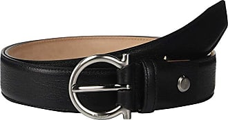 Salvatore Ferragamo Adjustable Belt - 679949 (Black) Mens Belts