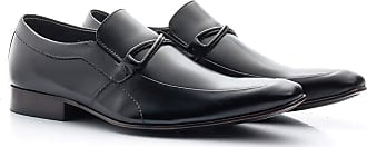 Di Lopes Shoes Sapato Social Masculino em Couro (40, Marrom)