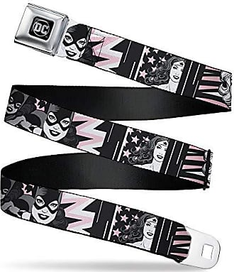1.0 Wide 20-36 Inches in Length Agnes Unicorn 4-Poses//Toys Scattered Black//Pinks Buckle-Down Seatbelt Belt