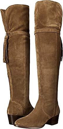 5c8aa3ad44f Frye Womens Clara Tassel OTK Slouch Boot Cashew 8 M US