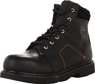 3c8e39873f61 Harley-Davidson Mens Pete Steel Toe Motorcycle Safety Boot