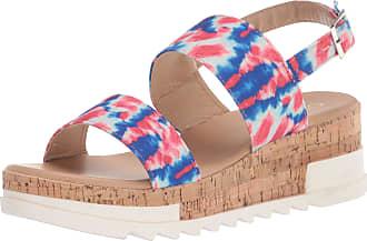 Yoki Womens BRENDA-80 Flat Sandal, Tie Dye, 5.5 UK