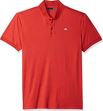 J.Lindeberg Mens Long Sleeve Modern Cotton Polo Shirt