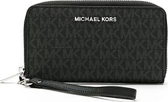 Michael Michael Kors Carteira com compartimento para celular - Preto