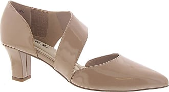 Easy Street womens Dashing By Easy Street Dress Shoe Beige Size: 8.5 X-Wide