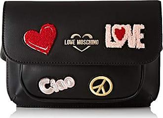 680d997c8 Love Moschino Pu, Mujer, Negro (Nero), 15x10x15 cm (W x