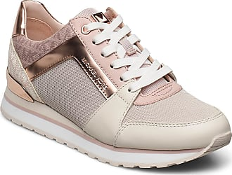Michael Kors Billie Trainer Låga Sneakers Rosa Michael Kors Shoes