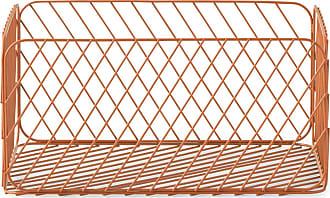 NORMANN COPENHAGEN Track Korb 34x43,5x20,5cm - rost/pulverbeschichtet/LxBxH 34x43,5x20,5cm