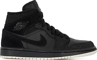huge discount 26b02 88064 Nike AIR JORDAN 1 RETRO MID JORDAN NOIR ROSE 36.5 FEMME JORDAN NOIR ROSE