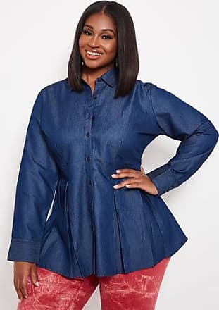 465adeabaf6 Ashley Stewart Blouses  Browse 704 Products up to −57%