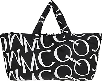 McQ by Alexander McQueen Mono Tote Bag Black Shopper schwarz