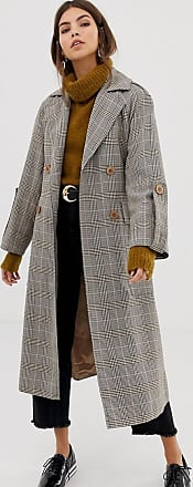 Whistles checked trench coat-Multi